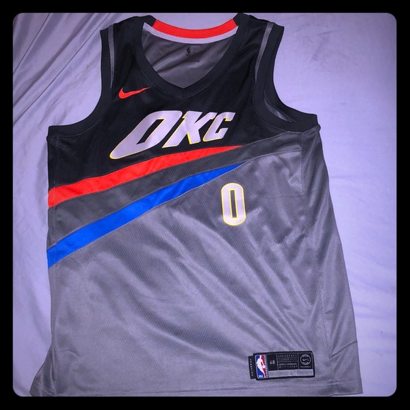 check out 7bf84 f81f1 Russell Westbrook Nike Swingman OKC Jersey
